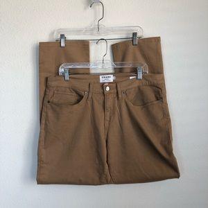 FRAME Denim L'Homme Slim Khaki Pants Jeans